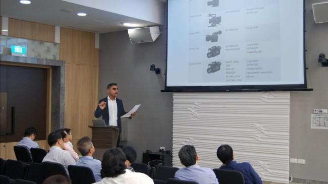 Genç Yönetmen Hüseyin Aslan Pilatin NHBDA konferansında özel açıklamalar yaptı