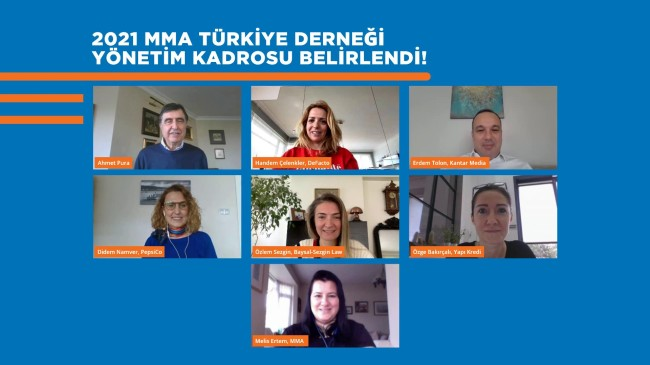 MMA Türkiye  Mobil Mecralar Araştırma Pazarlama ve Reklamcılık Derneği'nin Yönetim Kadrosu Açıklandı!