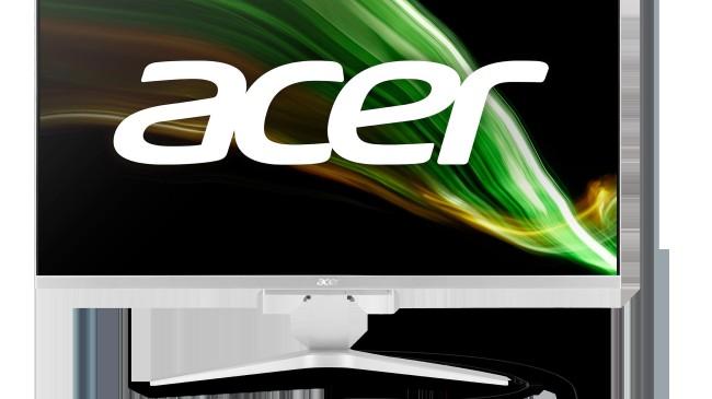 Acer Aspire C27 hepsi bir arada bilgisayarlar ince çerçeveli geniş ekranda yüksek performans sunuyor