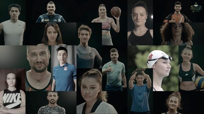 Türkiye'nin yıldız sporcuları MAC Stars'ta buluştu
